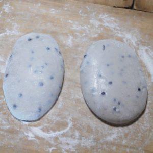 豆餅の伸し餅