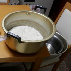 鍋とボウル